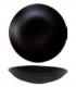 Dziļais šķīvis DAZZLE BLACK D-28 cm