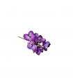 Dekoratīvs orhidejas zieds violets